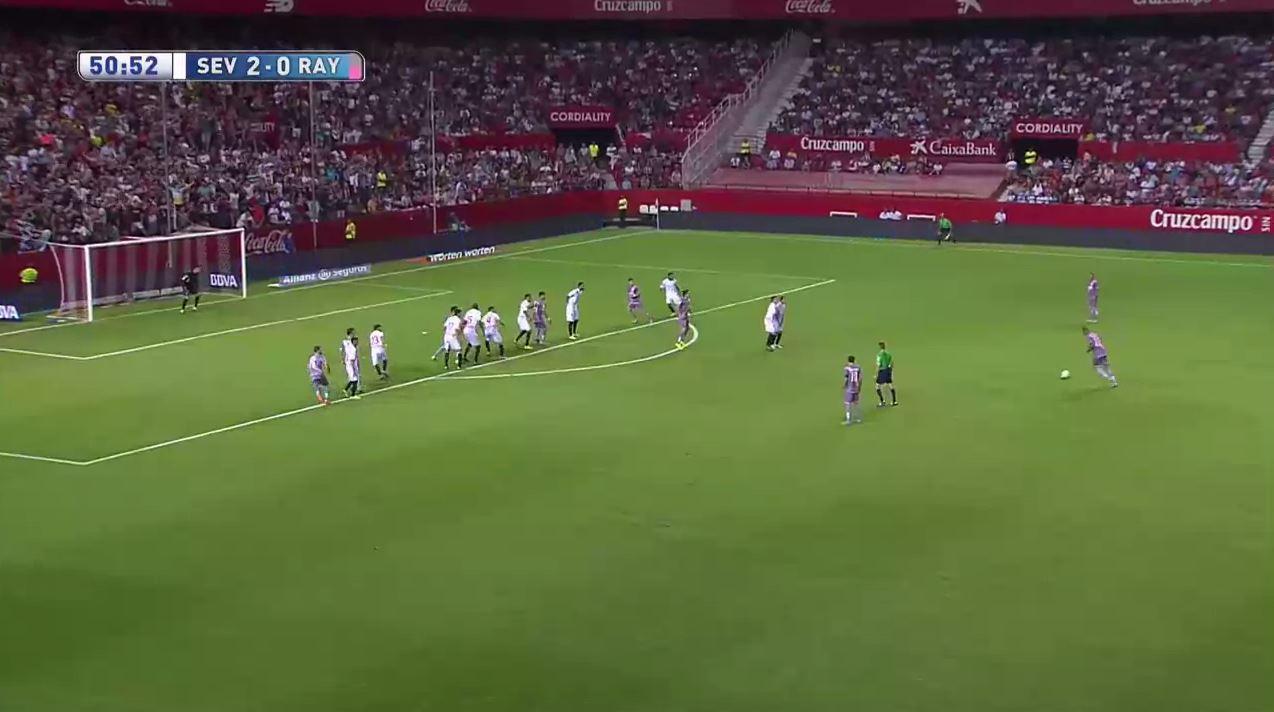 Manchester United flop Bebe scores insane free-kick for Rayo Vallecano