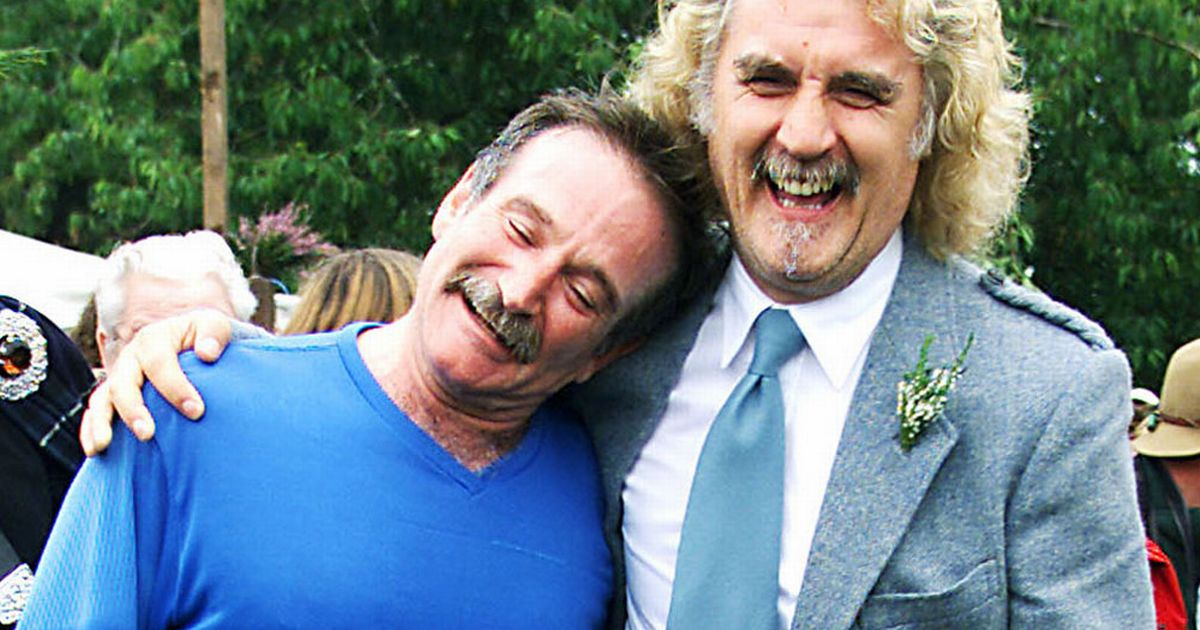 Billy Connolly on Robin Williams and Parkinson's disease: 'We were both angry'