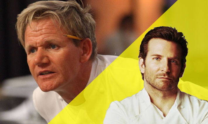 Bradley Cooper based his chef role in Burnt on Gordon Ramsay and Marco Pierre White