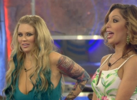 The joke's on CBB's Farrah and Jenna as they discover nominations twist after returning to house