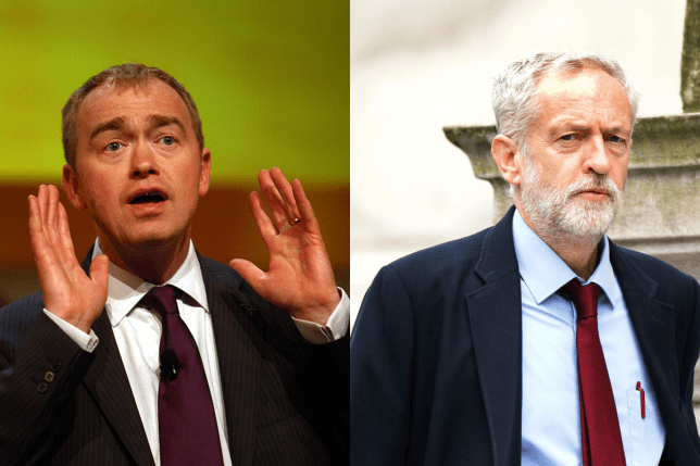 Tim Farron claims Labour MPs want to defect because of Corbyn. (Picture: PA)