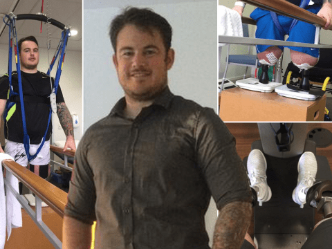 This is why a double amputee soldier told he wouldn't receive further treatment on NHS