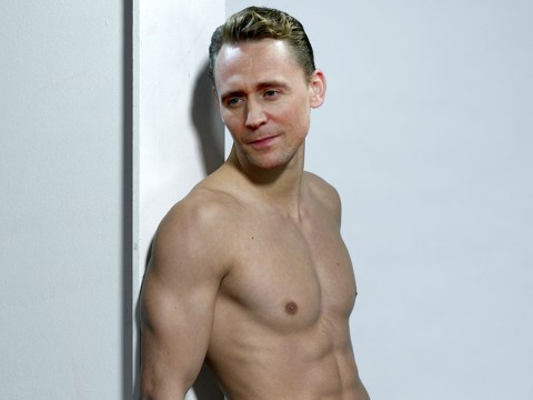 Tom Hiddleston thinks male actors should get naked more