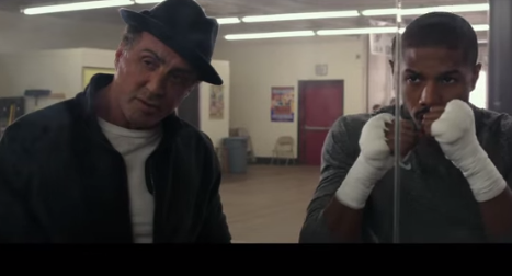 Rocky trains Apollo Creed's son in new trailer for spin-off movie