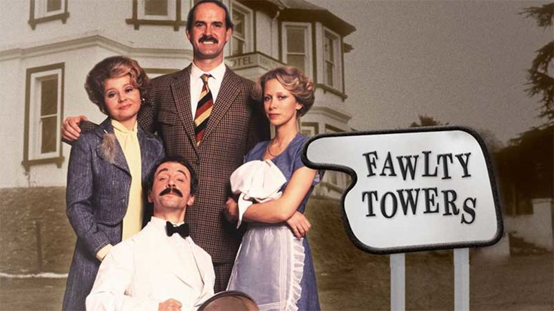 Here's your chance to actually live in the Fawlty Towers hotel. Sort of…