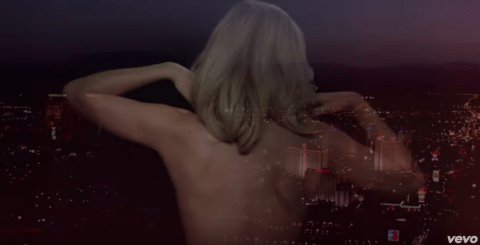 Ellie Goulding gets naked and rides a horse through a casino in the video for On My Mind
