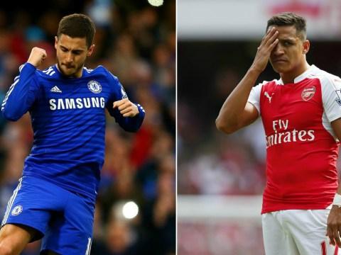 EA basically confirm Chelsea's Eden Hazard will be better than Arsenal's Alexis Sanchez in FIFA 16