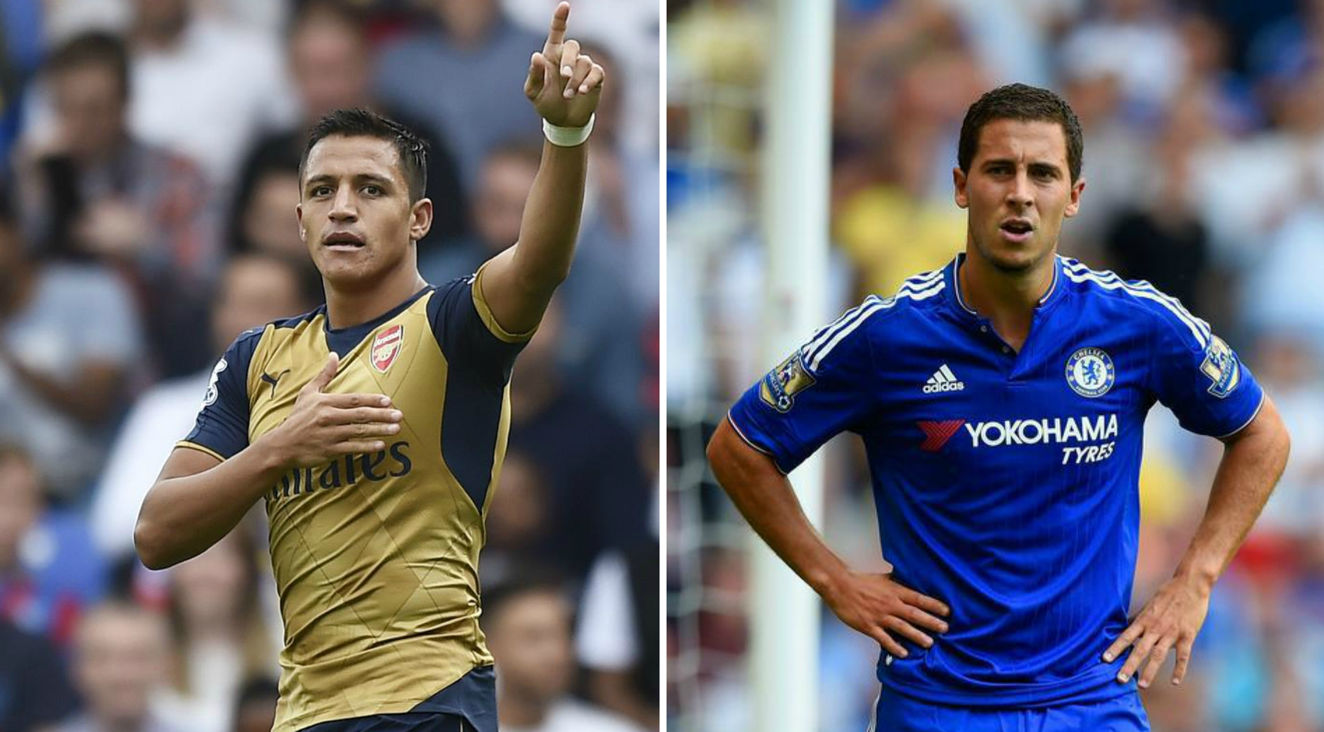 Wage figures show Arsenal's Alexis Sanchez costs less per goal than Chelsea's Eden Hazard