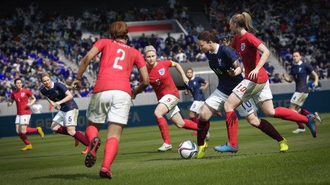 FIFA 16 (PS4) - some may actually prefer how the women's game plays