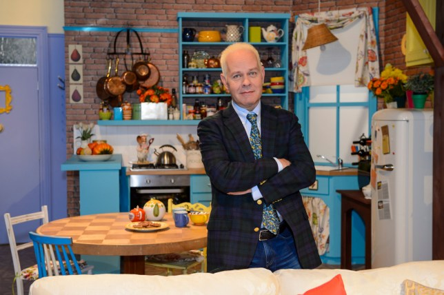 James Michael Tyler pictured in a full set of Monica's Apartment, at Comedy Central's FriendsFest, at The Boiler House in London's Brick Lane. FriendsFest is open to the public from 16-20th September. Friends airs exclusively on Comedy Central, weekdays from 5pm.