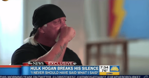 Hulk Hogan begs for forgiveness in emotional new interview following race row over leaked audio
