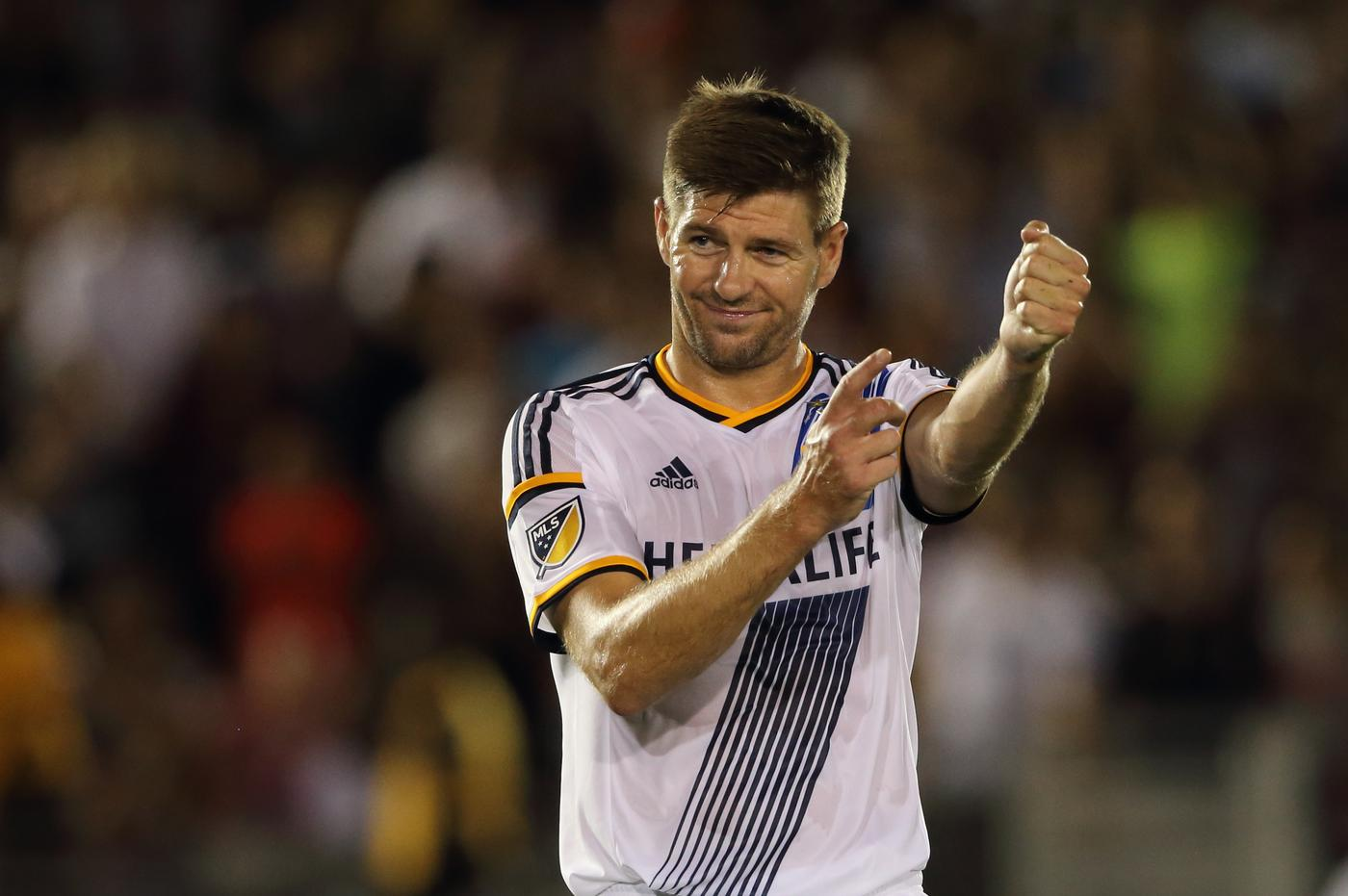 MLS shutdown rumours of Steven Gerrard's January return to Liverpool