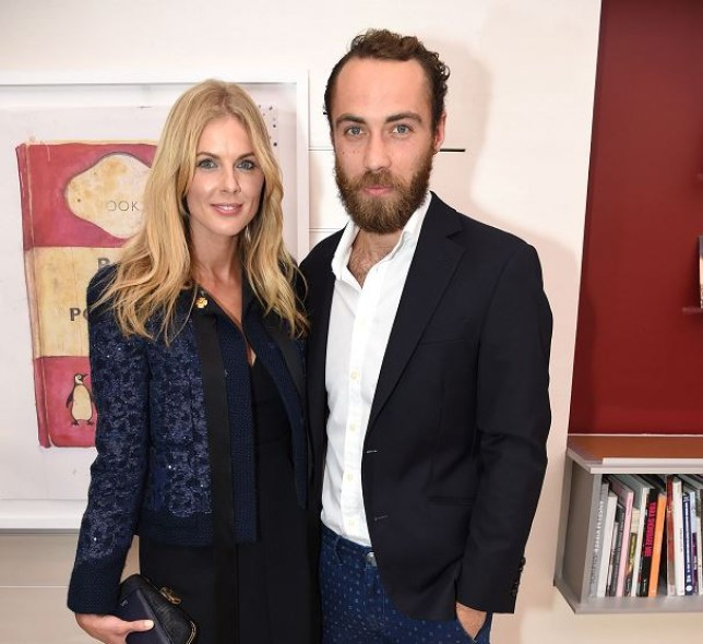 Donna Air and James Middleton are still a couple (Picture: Rex)