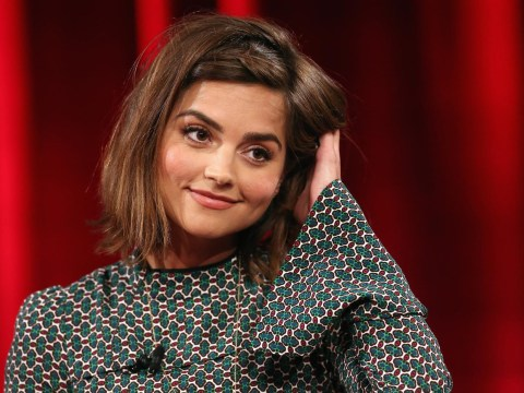 Doctor Who's Jenna Coleman 'hits' fan's bustle and steals clockwork squirrel