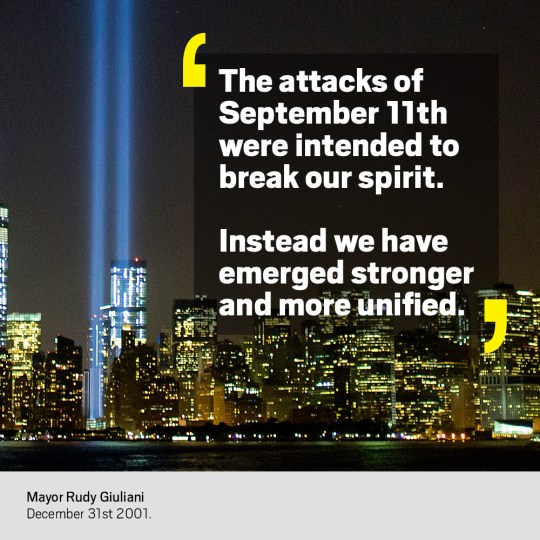 9 11 Quotes As The World Remembers The Atrocity On 17th