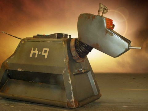 Doctor Who's tin dog to make a return? Steven Moffat wants K9 back!