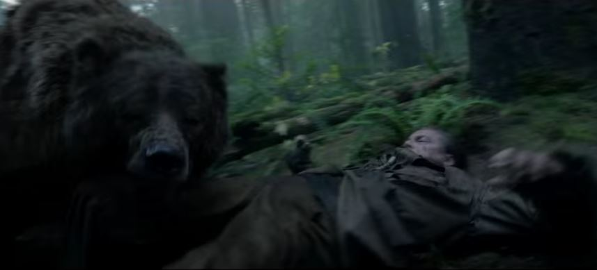 Leonardo DiCaprio gets mauled by a bear in grizzly new trailer for The Revenant
