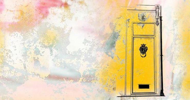little yellow door