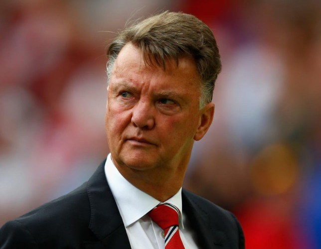 Van Gaal says he'll leave Old Trafford in 2017 (Picture:Getty)