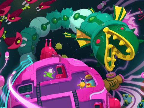 Lovers In A Dangerous Spacetime PS4 review – Valentine's Day co-op