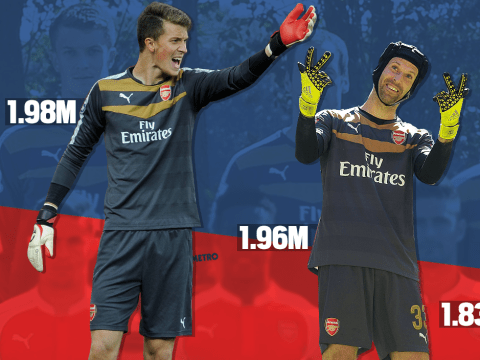 Arsenal team photo shows they already had a bigger keeper than Petr Cech