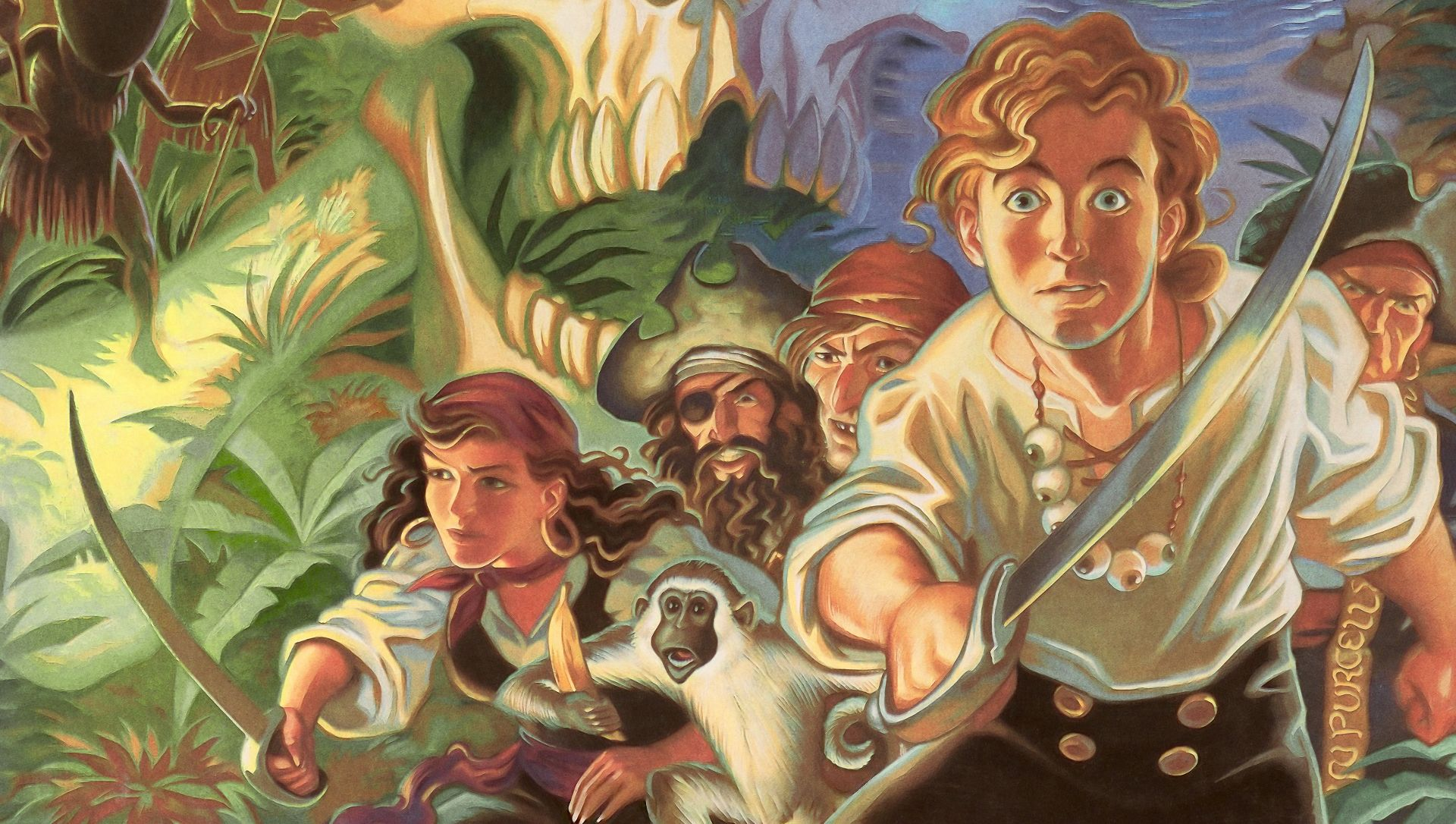The Secret of Monkey Island - 25 years immature this month