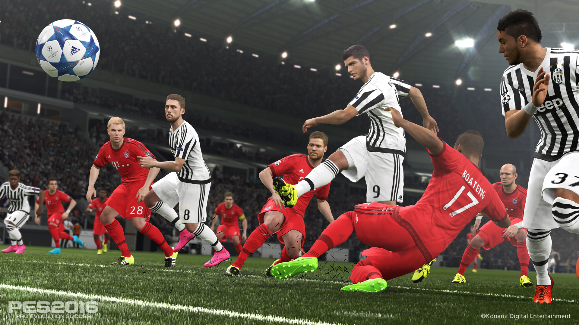 PES 2016 (PS4) - goal in