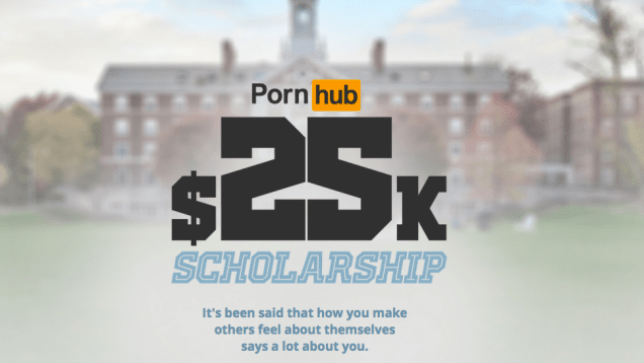 Porn hub College