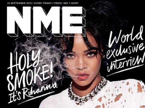 NME's 'real music' fans are outraged that Rihanna is on the cover