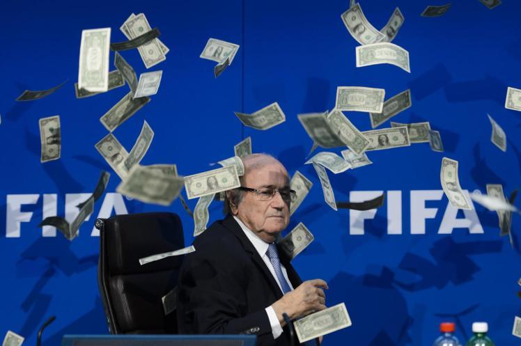 Sepp Blatter says he will stay on as Fifa president despite criminal proceedings