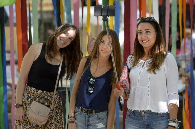 SPAIN-TRADITIONS-FESTIVAL-RECYCLING JOSEP LAGO/AFP/Getty Images