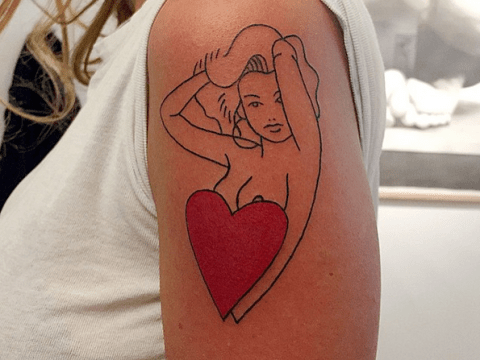 These minimalist french style tattoos are gamechanging the ink world