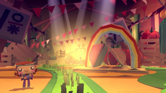 Tearaway Unfolded (PS4) - all-new gimmicks