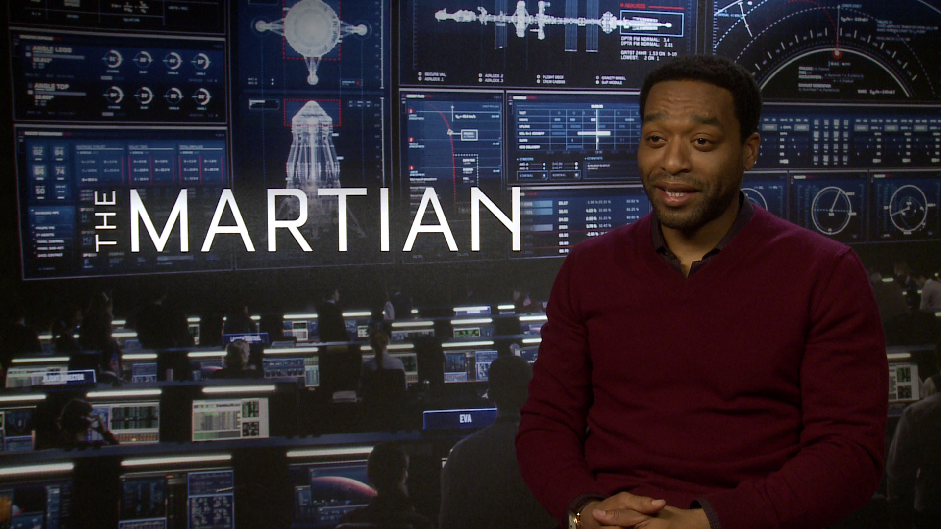 EXCLUSIVE: The Martian's Chiwetel Ejiofor says he has the scientific knowledge of a 16-year-old