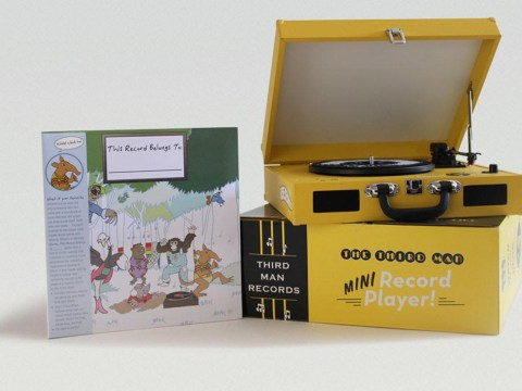 This children's turntable from Jack White is all kinds of awesome