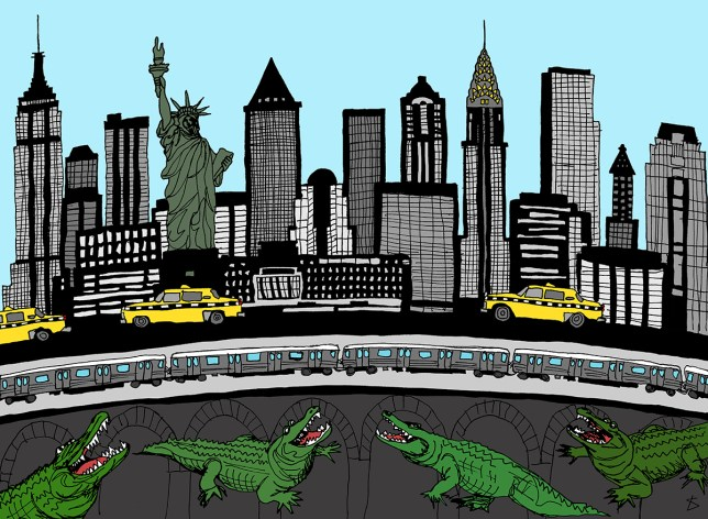 Urban Myths Illustrations Illustration by Liberty Antonia Sadler for metro.co.uk