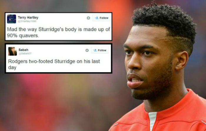 Liverpool fans speculate as to what Daniel Sturridge may actually be made of after latest injury