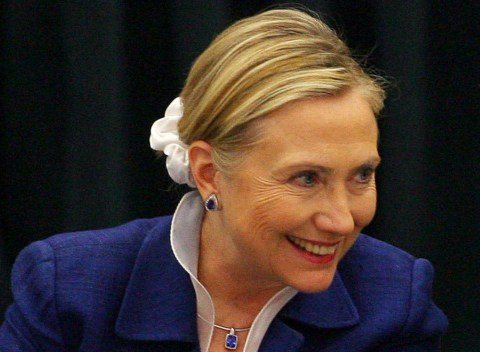 You can now buy scrunchies decorated with Hillary Clinton's face
