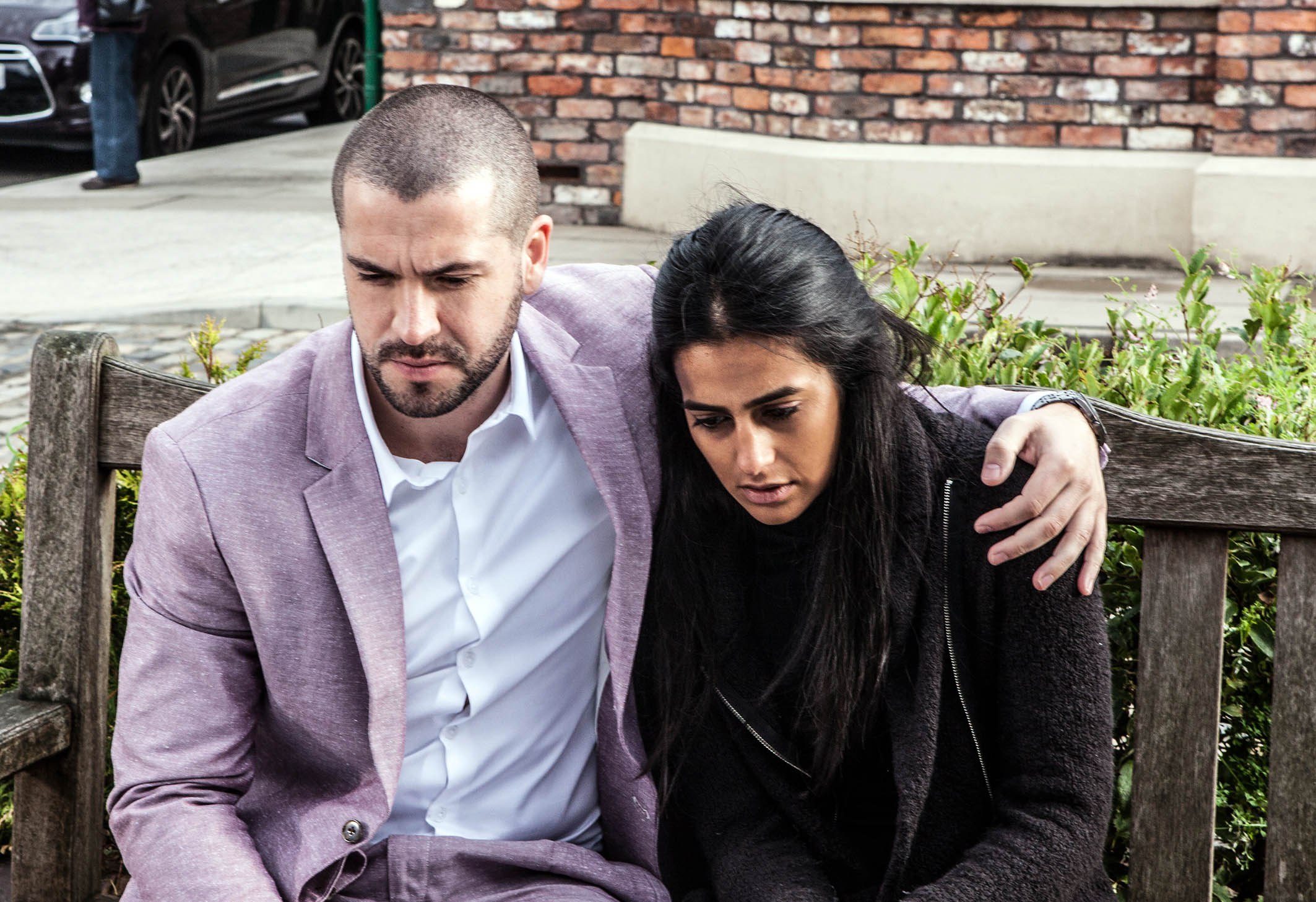 FROM ITV STRICT EMBARGO - No Use Before Tuesday 20 October 2015 Coronation Street - Ep 8762 Friday 30 October 2015 Lashing out Gary Windass [MIKEY WINDASS] accuses Aidan Connor [SHAYNE WARD] of sleeping with Alya Nazir [SAIR KHAN], will Jason Grimshaw [RYAN THOMAS] step up and admit it was him? Picture contact: david.crook@itv.com on 0161 952 6214 Photographer - Joseph Scanlon This photograph is (C) ITV Plc and can only be reproduced for editorial purposes directly in connection with the programme or event mentioned above, or ITV plc. Once made available by ITV plc Picture Desk, this photograph can be reproduced once only up until the transmission [TX] date and no reproduction fee will be charged. Any subsequent usage may incur a fee. This photograph must not be manipulated [excluding basic cropping] in a manner which alters the visual appearance of the person photographed deemed detrimental or inappropriate by ITV plc Picture Desk. This photograph must not be syndicated to any other company, publication or website, or permanently archived, without the express written permission of ITV Plc Picture Desk. Full Terms and conditions are available on the website www.itvpictures.com