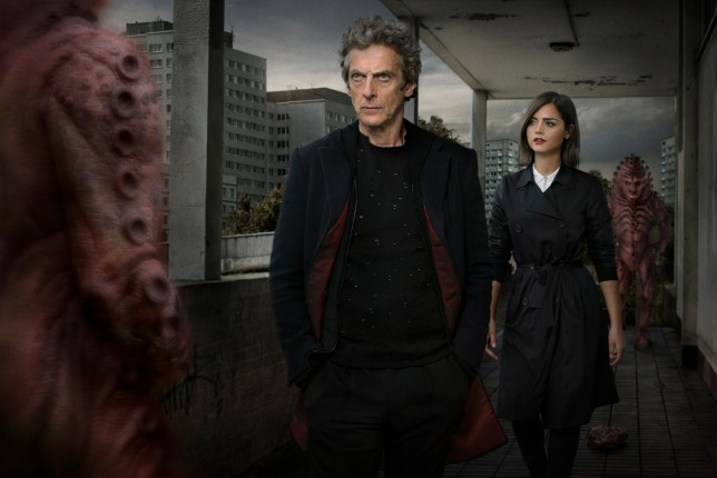 Doctor Who, Episode: INVASION OF THE ZYGONS starring Peter Capaldi and Jenna Coleman