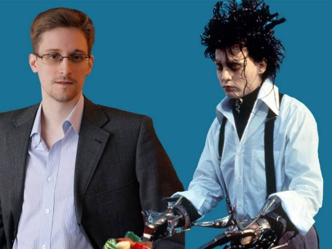 Twitter comedian is invited on TV to talk about Edward Snowden. Talks about Edward Scissorhands instead…