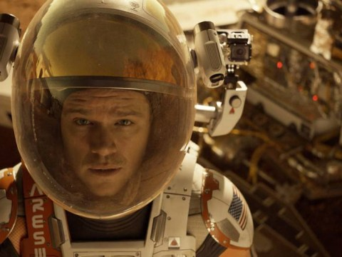 Awkward! So The Martian is apparently a comedy – according to the Golden Globes