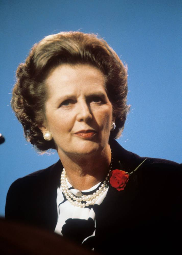 Margaret Thatcher voted most influential woman of the past 200 years