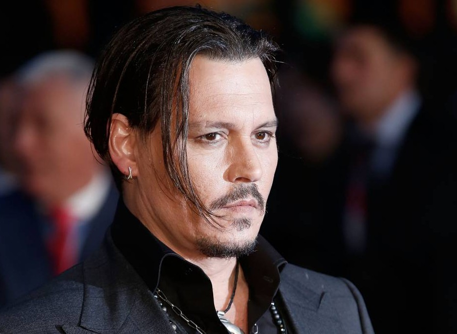 """LONDON, ENGLAND - OCTOBER 11: Johnny Depp attends the """"Black Mass"""" Virgin Atlantic Gala screening during the BFI London Film Festival, at Odeon Leicester Square on October 11, 2015 in London, England. (Photo by John Phillips/Getty Images for BFI)"""