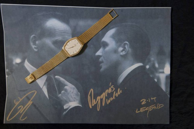 Reggie Kray's gold and diamond-incrusted watch was worn by Tom Hardy in Legend and now it could be yours