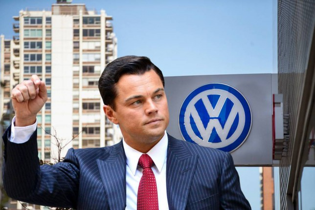 Leonardo DiCaprio is about to call Volkswagen out on the big screen for the emissions test scandal