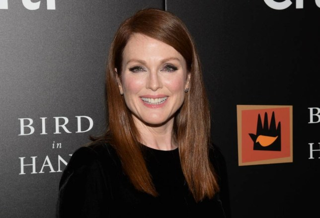 "FILE - In this Sept. 28, 2015 file photo, Julianne Moore attends a special screening of ""Freeheld"" in New York. Moore has announced the formation of the Everytown Creative Council. She says it's an effort to organize the creative community to amplify the message of the movement to end gun violence. (Photo by Charles Sykes/Invision/AP, File)"