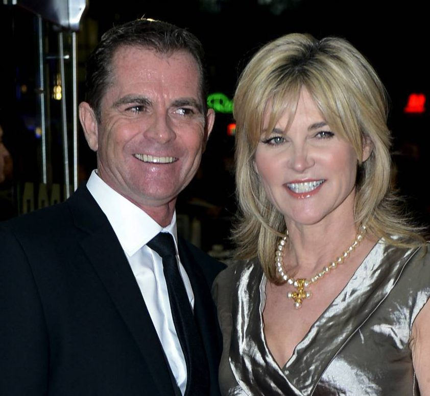File photo dated 18/10/2012 of former Blue Peter presenter Anthea Turner and her husband Grant Bovey who have divorced. PRESS ASSOCIATION Photo. Issue date: Wednesday October 14, 2015. See PA story COURTS Turner. Photo credit should read: Jonathan Brady/PA Wire