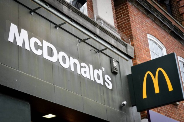 "FILE PICTURE - GV of a McDonalds. A Nottinghamshire man was rushed to hospital with food poisoning after eating a ""green egg"" which, he says, was in a McDonald's sandwich. See NTI story NTIMUFFIN. Alan Evans made the gruesome discovery after visited the restaurant's Bulwell branch last Thursday and said he had been laid up in bed ever since. He said it was only when he decided to put barbecue sauce on his McMuffin breakfast sandwich that he saw the discoloured egg and immediately stopped eating. But within hours, Mr Evans began to be sick, and he says this continued for more than five days. After he was unable to hold down a glass of water, his partner contacted an NHS helpline, which sent out a private ambulance on Tuesday evening."