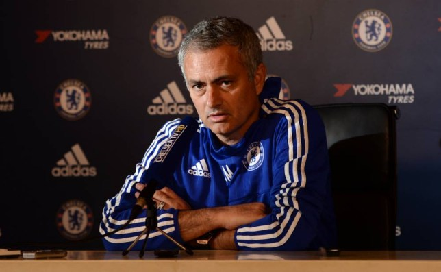 Football - Chelsea - Jose Mourinho Press Conference - Chelsea Training Ground - 16/10/15  Chelsea manager Jose Mourinho during the press conference  Action Images via Reuters / Tony O'Brien  Livepic  EDITORIAL USE ONLY.